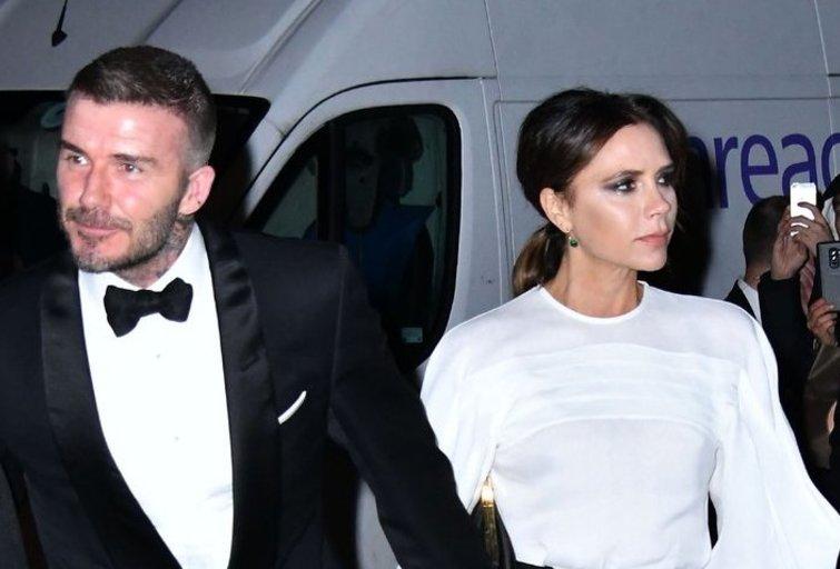Victoria Beckham ir Davidas Beckhamas (nuotr. SCANPIX)