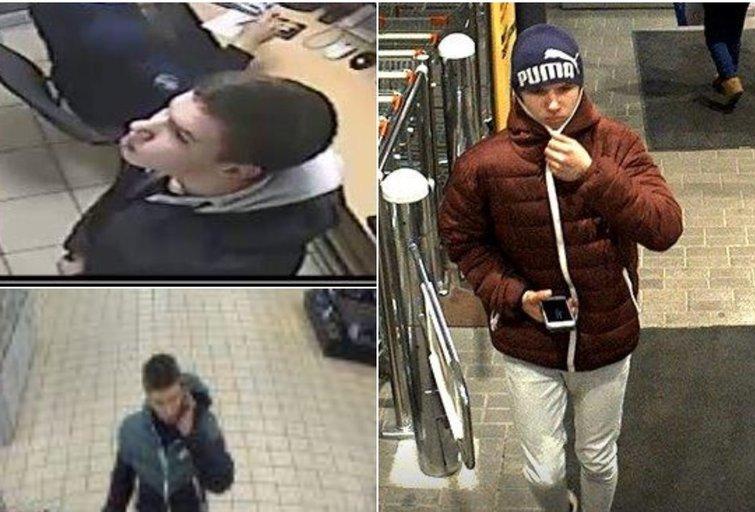 Policija prašo pagalbos: ieško vyro, galinčio padėti vagysčių tyrimuose (tv3.lt fotomontažas)