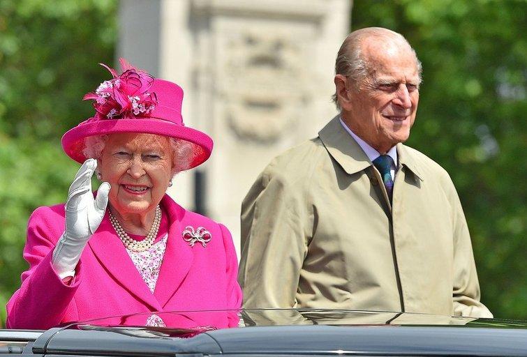 Karalienė ir Princas Phillip (nuotr. SCANPIX)