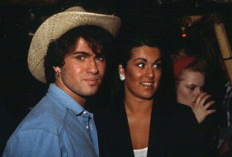 George Michael ir jo sesuo Melanie (nuotr. SCANPIX)