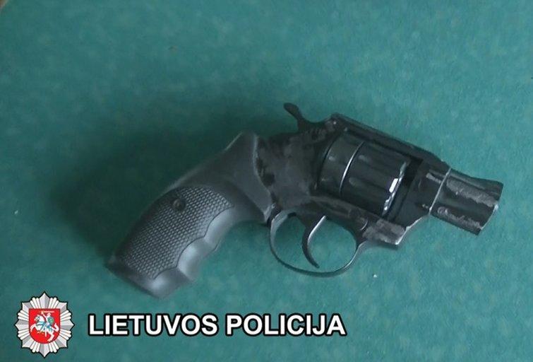 Ginklas (nuotr. Policijos)