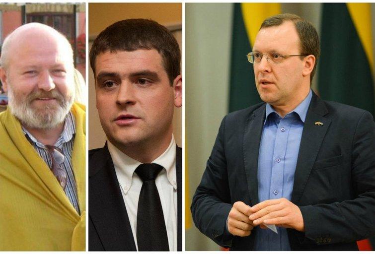 Eugenijus Gentvilas, Remigijus Žemaitaitis ir Naglis Puteikis (nuotr. tv3.lt)