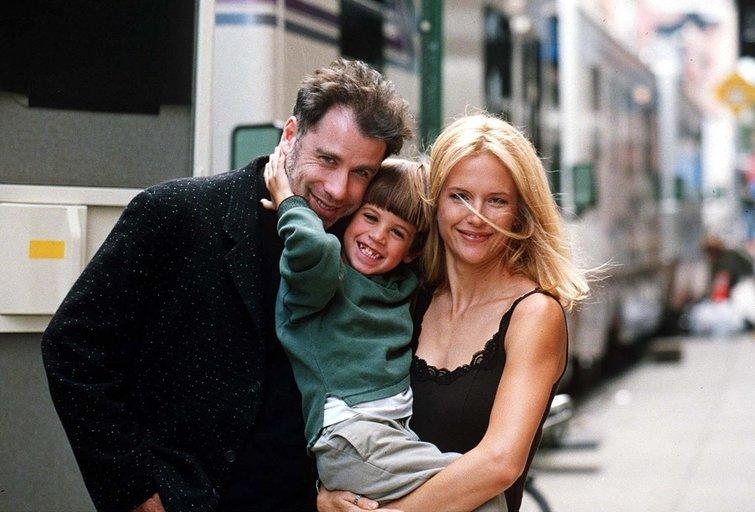 Travoltų šeima (nuotr. Vida Press)