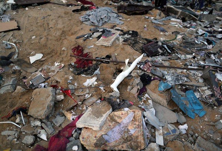 Kraupi situacija Gazos ruože (nuotr. SCANPIX)