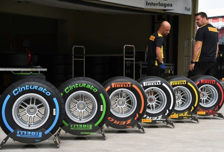 Pirelli padangos (nuotr. SCANPIX)