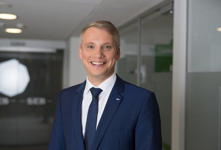 Vilius Juzikis, SEB banko valdybos narys, Verslo bankininkystės tarnybos direktorius (nuotr. bendrovės)