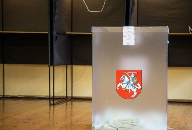 Savivaldos rinkimai/ Fotodiena/Justinas Auškelis