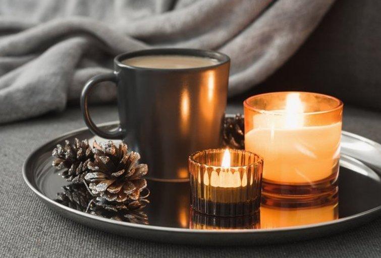 Žvakės namuose  (nuotr. Shutterstock.com)