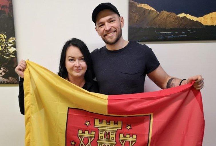 Jurijus Veklenko ir Inga Grubliauskienė (nuotr. Organizatorių)