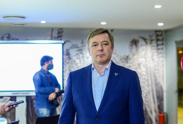 Ramūnas Karbauskis (K. Polubinska nuotr.)