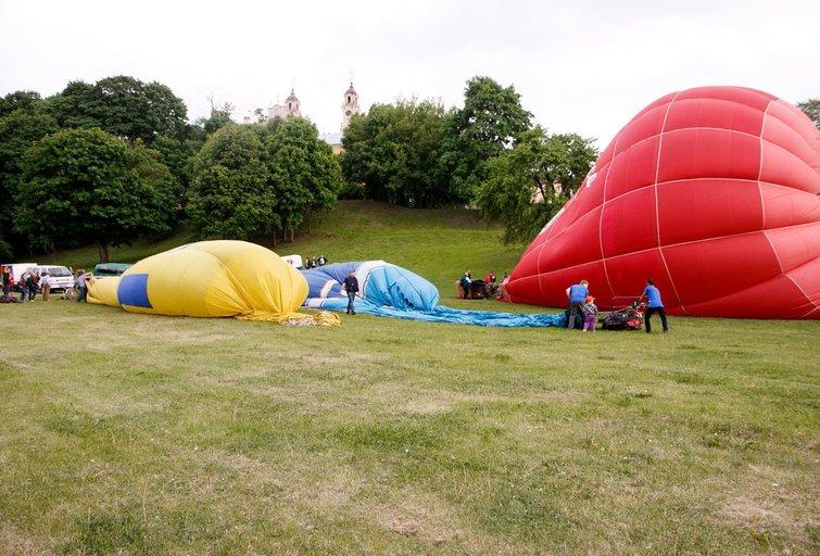Oro balionai (nuotr. Tv3.lt/Ruslano Kondratjevo)