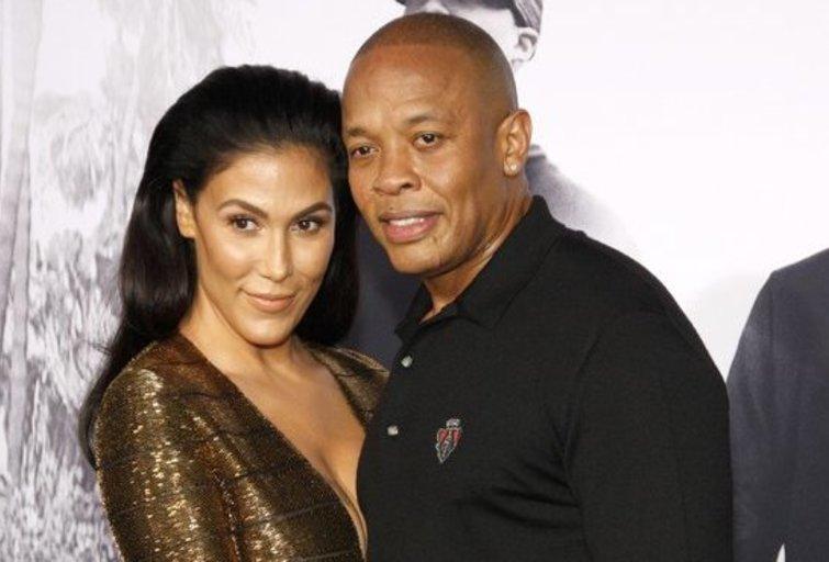 Nicole Young ir Dr. Dre  (nuotr. SCANPIX)