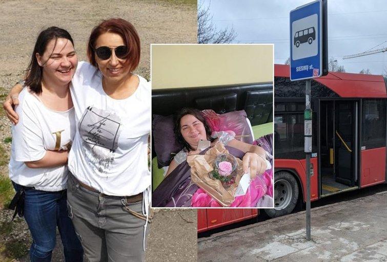Eveliną autobusas Kaune galimai vilko net 170 metrų (nuotr. asm. archyvo)