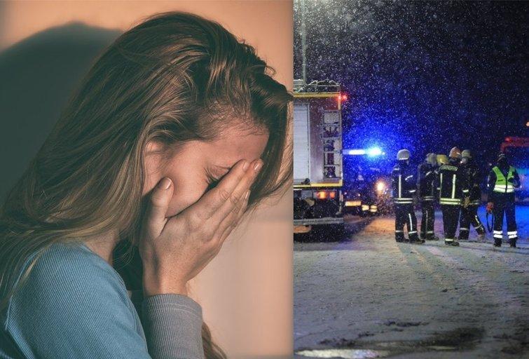 Prakalbo avarijoje žuvusių 23-ų jaunuolio draugė (tv3.lt fotomontažas)