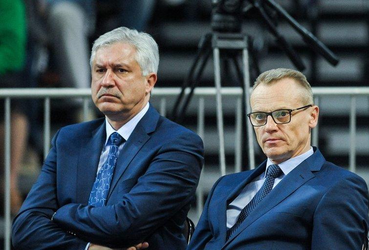 Kęstutis Pilipauskas ir Romualdas Brazauskas (nuotr. Fotodiena.lt)