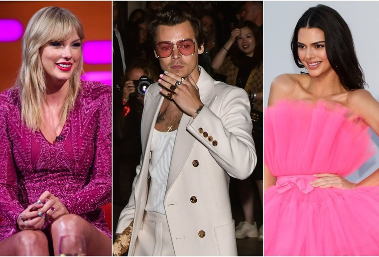 Taylor Swift, Harry Styles, Kendall Jenner (tv3.lt fotomontažas)