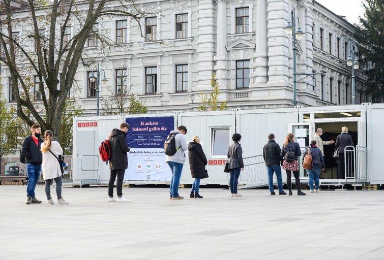 Seimo rinkimai (nuotr. Fotodiena/Justino Auškelio)