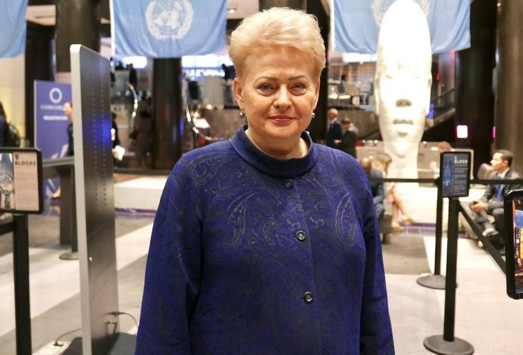 Prezidentė Dalia Grybauskaitė (nuotr. grybauskaite.lrp.lt)