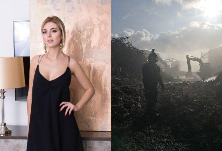Justina Stambrauskaitė prakalbo apie situaciją Alytuje (tv3.lt fotomontažas)