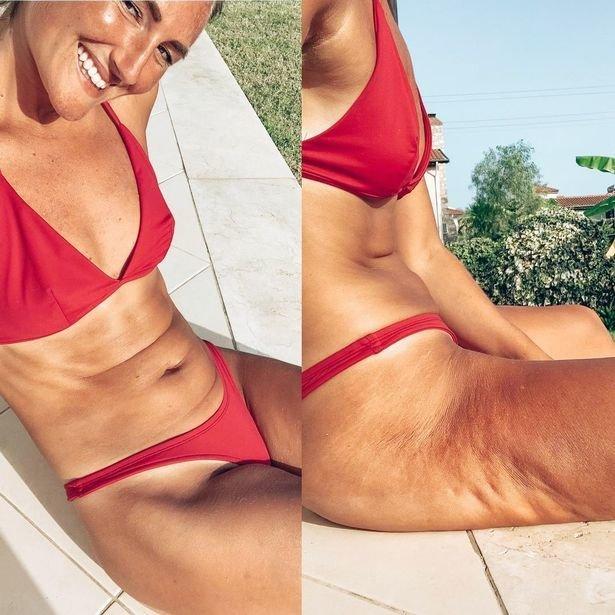 Fitneso trenerė savo sekėjus ragina būti geresniems savo kūnui