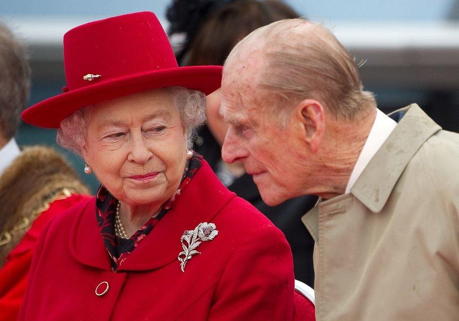 Karalienė Elizabeth II ir princas Philipas