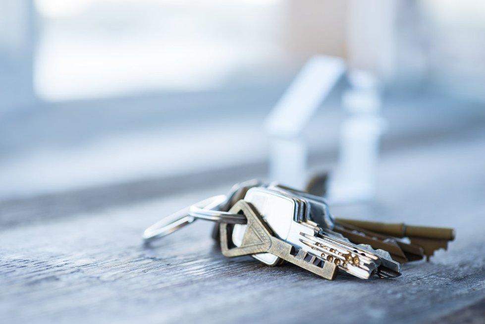 Namų raktai (nuotr. 123rf.com)