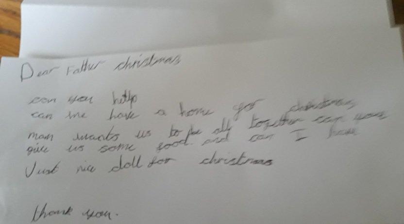 Septynmečio laiškas sujaudino iki širdies gelmių (Nuotr. twitter.com)