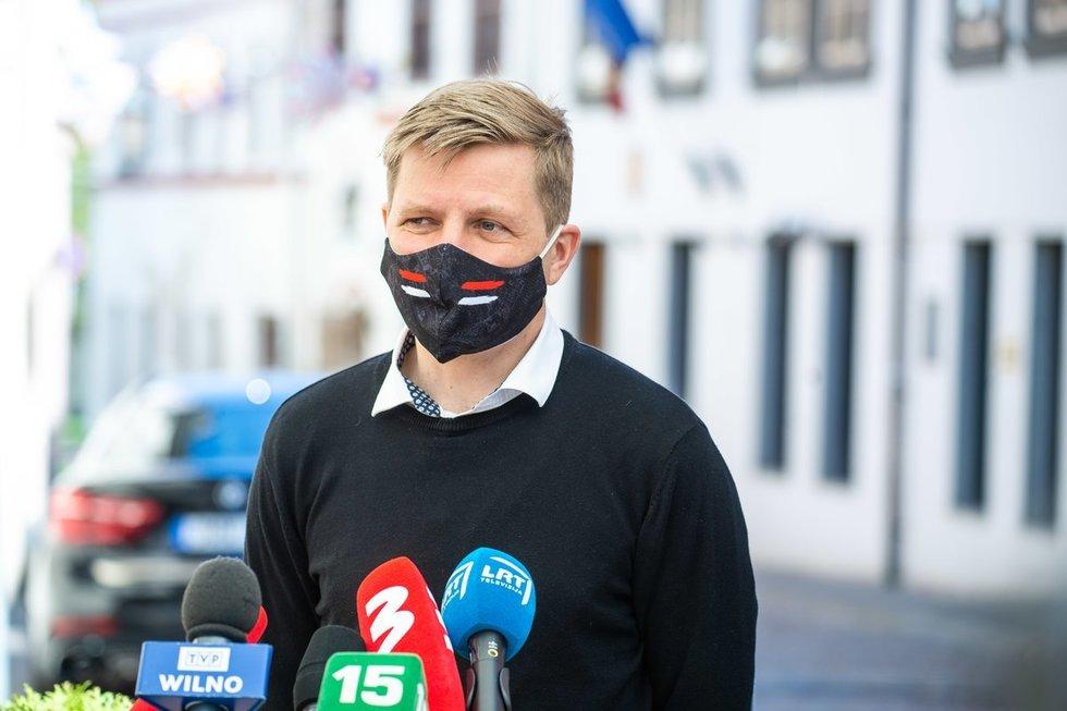 """Šimašius reiškia užuojautą žuvusių """"Vilniaus vandenų"""" darbuotojų šeimoms"""