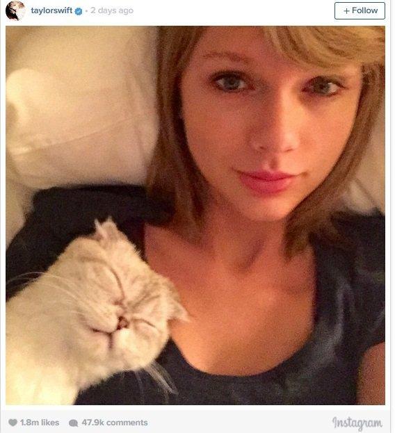 Taylor Swift (nuotr. Instagram)