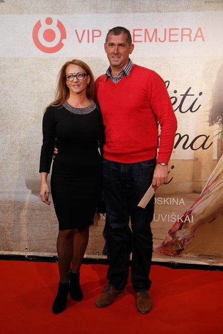 Asta Pilypaitė su vyru
