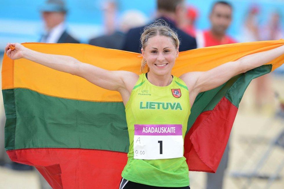 Laura Aasadauskaitė-Zadneprovskienė.