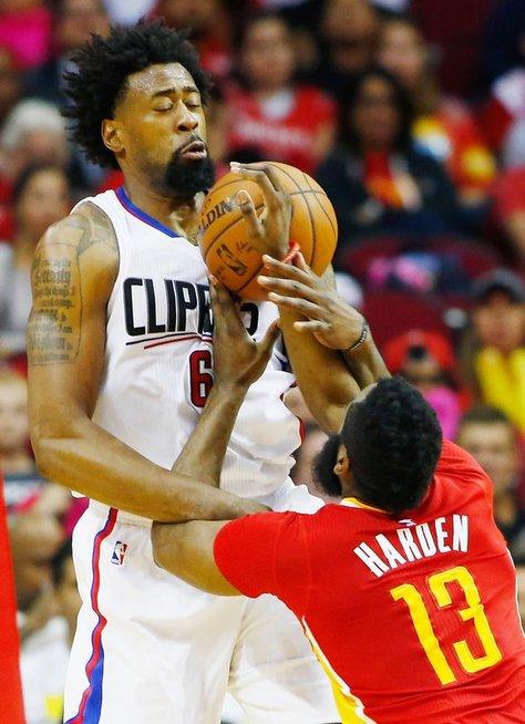 """""""Clippers"""" - """"Rockets"""" (nuotr. SCANPIX)"""