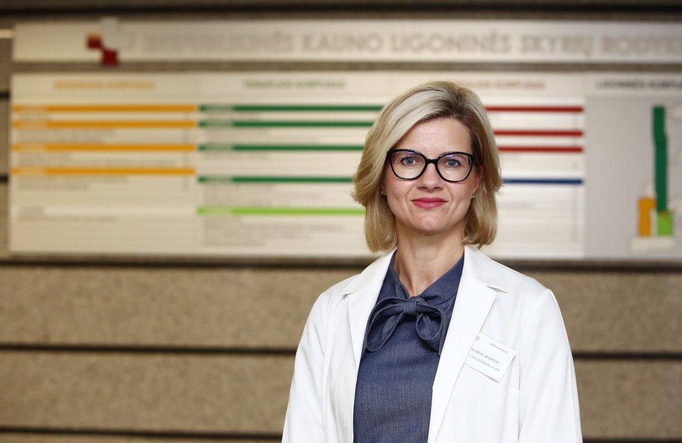 Respublikinės Kauno ligoninės vadovė Diana Žaliaduonytė