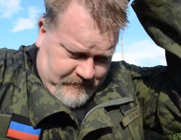 J. Backmanas Donbase (nuotr. YouTube)