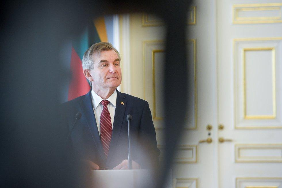 Seimo pirmininkas Viktoras Pranckietis (nuotr. Fotodiena.lt)