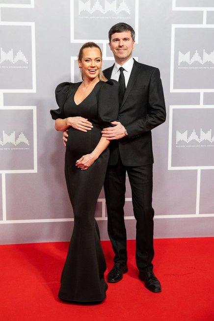 Ingrida Martinkėnaitė su vyru