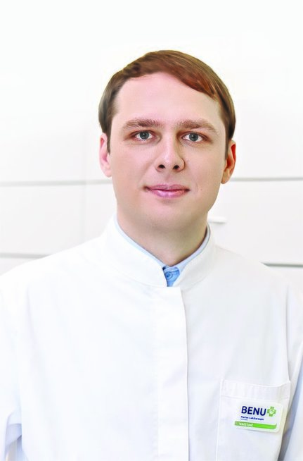 Vaistininkas Marius Lukštaraupis