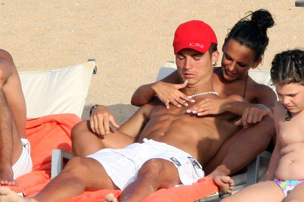 Nereida Gallardo ir Cristiano Ronaldo