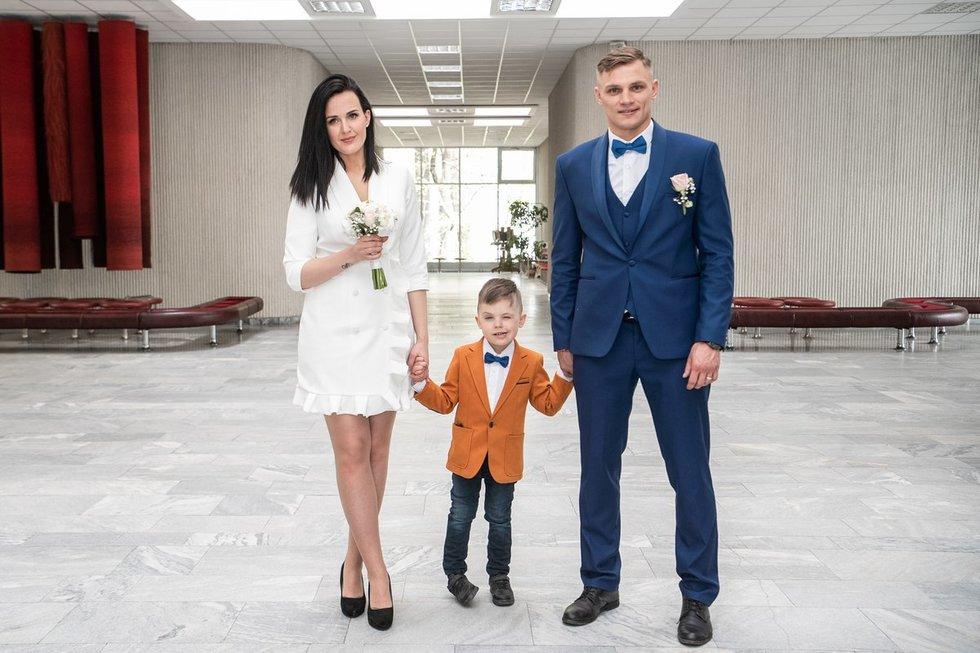 Sergejus Maslobojevas vedė savo mylimąją