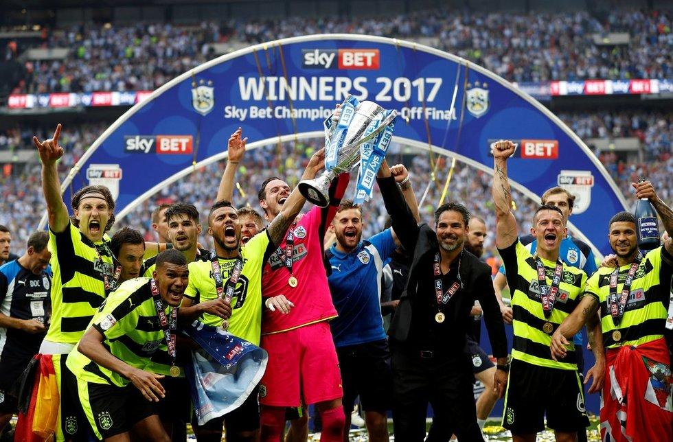 """""""Huddersfield Town"""" (nuotr. SCANPIX)"""