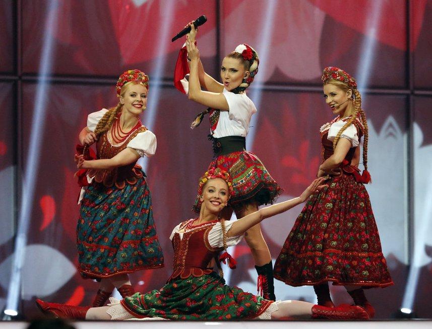 Lenkijos pasirodymas 2014-ųjų metų Eurovizijoje (nuotr. SCANPIX)