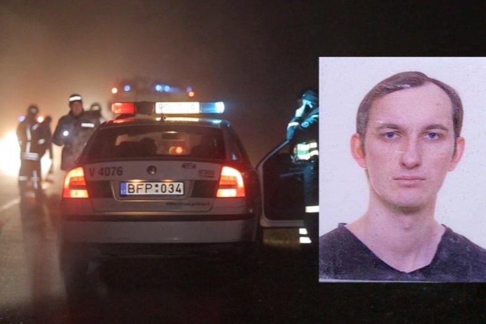 Kauno rajone rasta sušaudyta šeima, policija ieško įtariamojo (nuotr. TV3)