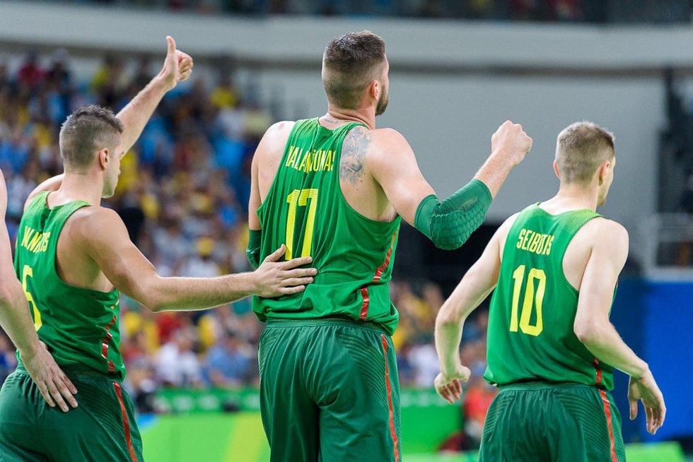 Rio 2016: Brazilija - Lietuva (nuotr. LTOK)
