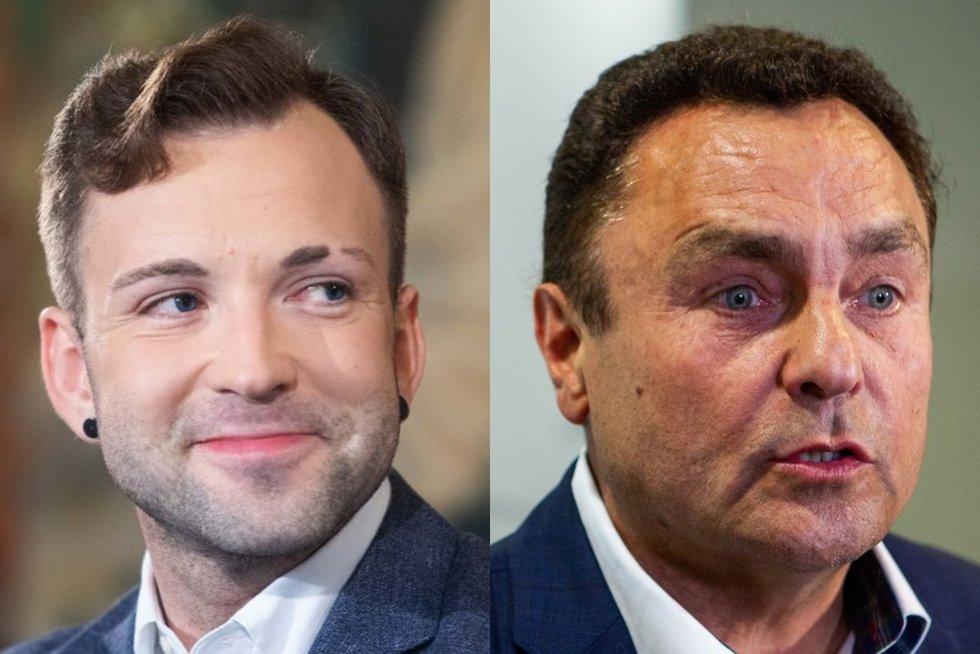 Tomas Vytautas Raskevičius ir Petras Gražulis (tv3.lt fotomontažas)