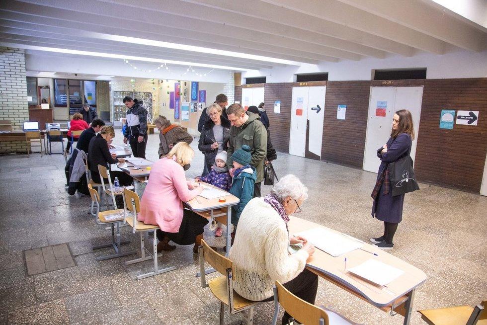 Savivaldos rinkimai/Fotodiena/Justinas Auškelis