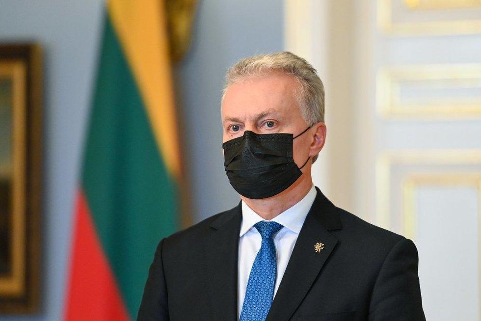 G. Nausėda (nuotr. Roberto Dačkaus)