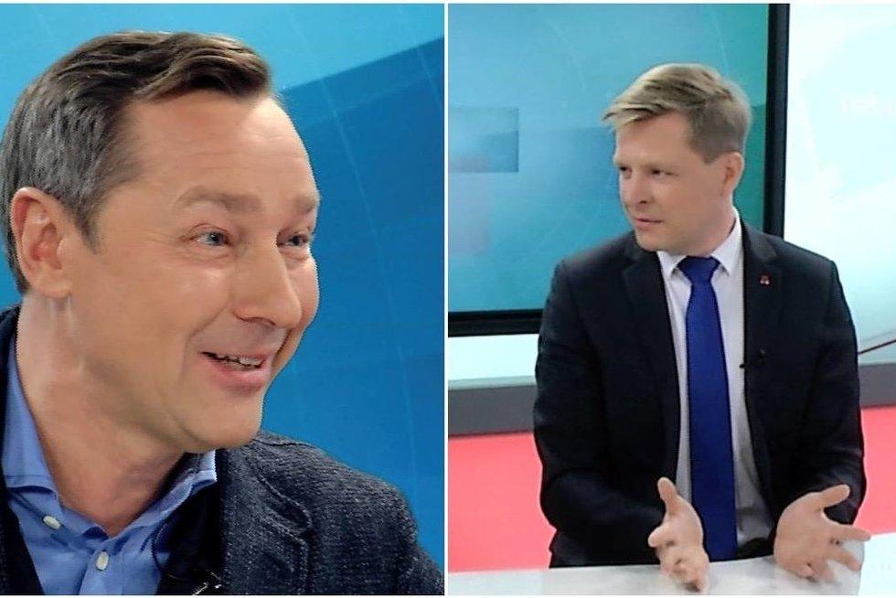 Artūras Zuokas ir Remigijus Šimašius (nuotr. tv3.lt)