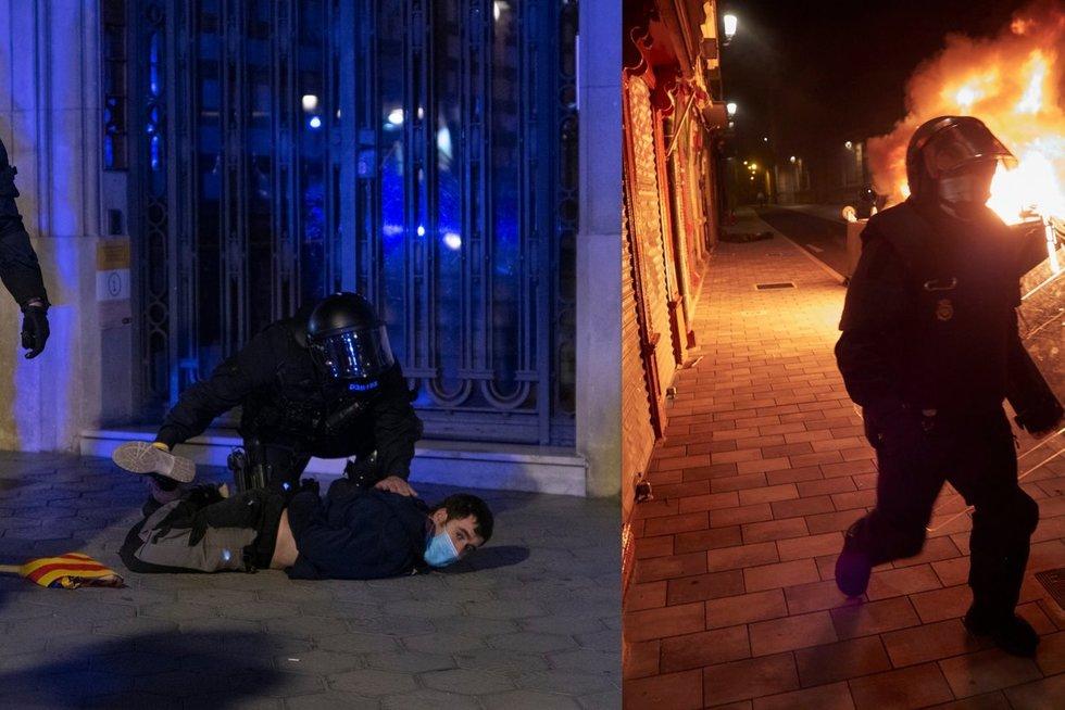 Ispanijoje vyko protestas (nuotr. SCANPIX)