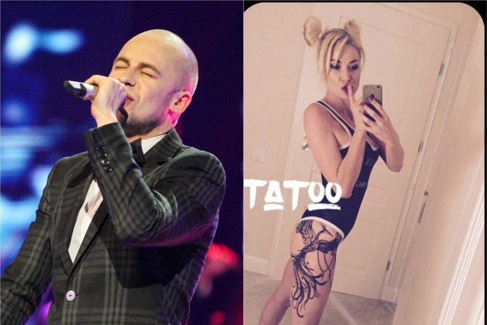 V. Bareikis apie naują N. Bunkės tatuiruotę: tam, kurį prileidžia prie tos sėdynės, tai aišku, kad gražu (nuotr. Fotodiena.lt)