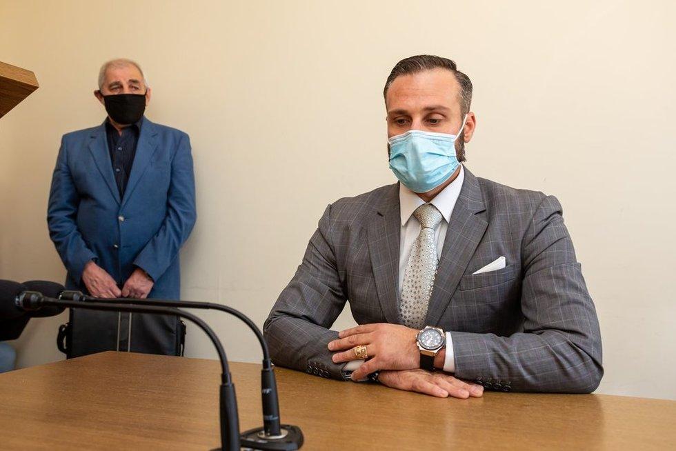 Andriui Kandeliui paskelbtas nuosprendis (nuotr. Broniaus Jablonsko)
